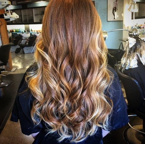 Long Hair With Face-Framing Ombre