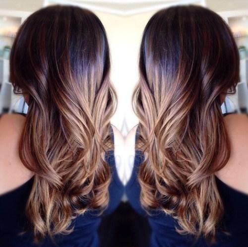 Loose Brunette Curls
