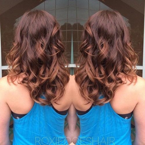 Medium Length Curls