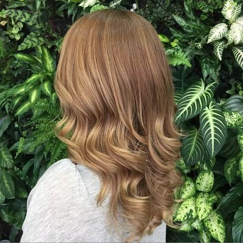 Medium Light Copper Curls