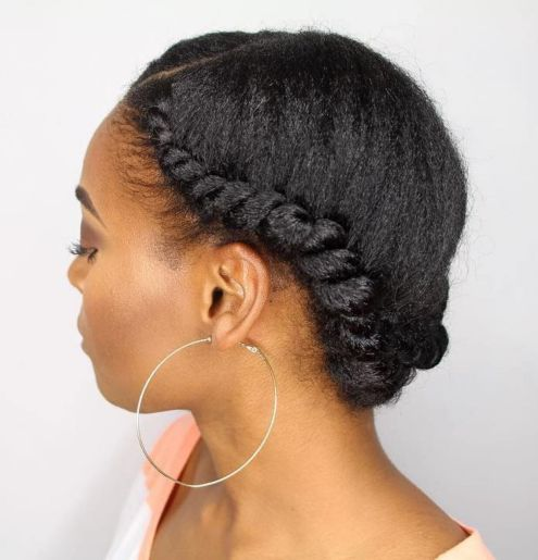 Headband twist for natural hair