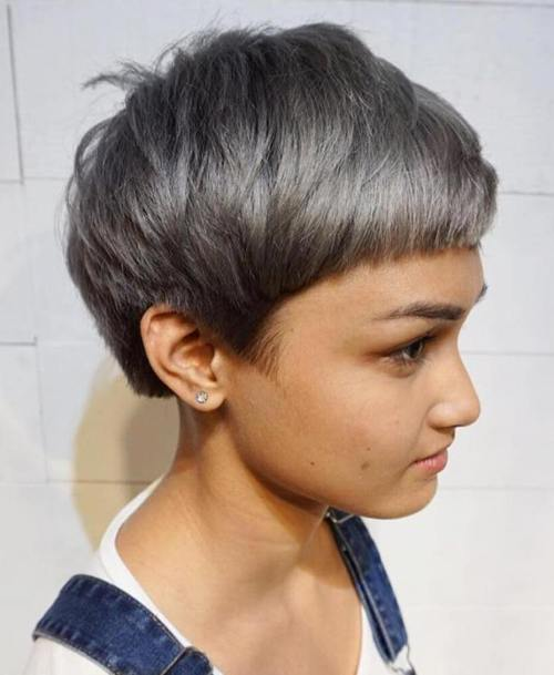 Layered pixie for girls