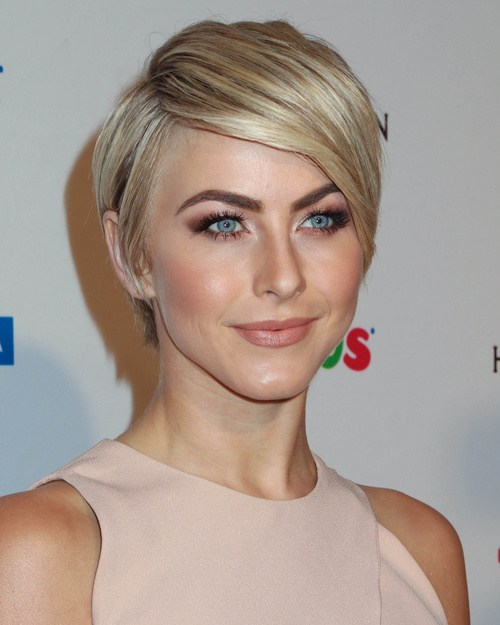 Neat a line hairstyle for short thick hair