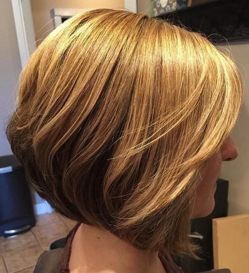 Twotone bob hairstyle